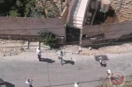 مستوطنون يهاجمون المنازل الفلسطينية بالحجارة في الخليل