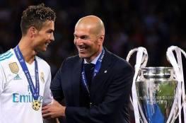زيدان يعلق على عودة رونالدو الى ريال مدريد
