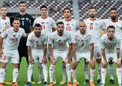 """المنتخب الفلسطيني يتراجع للمركز الـ104 في تصنيف """"الفيفا"""""""