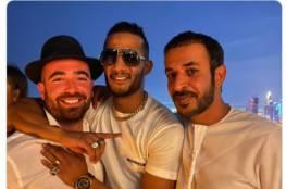 أول تعليق من الفنان المصري محمد رمضان على صورته مع المطرب الإسرائيلي عومير آدام