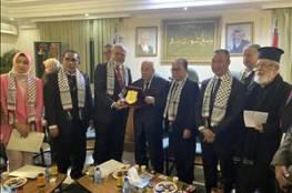 الزعنون يطلع وفداً برلمانياً اندونيسياً على تطورات القضية الفلسطينية