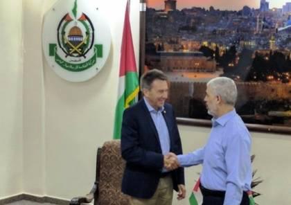 رئيس الصليب الاحمر : لقائي مع السنوار كان مثمرا و أشد ما يدهشني في غزة هو ... ؟