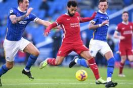 ليفربول يسقط في فخ التعادل أمام برايتون ورد فعل غاضب من صلاح على قرار كلوب (فيديو)