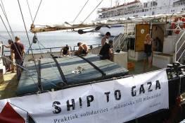 """بحرية الاحتلال تسيطر على """"سفينة كسر الحصار"""" وتسحبها لميناء أسدود"""