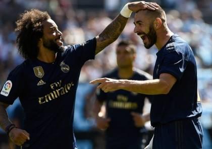 فيديو ..بعشرة لاعبين.. ريال مدريد يفتتح موسمه بثلاثية ضد سيلتا فيغو