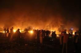 اصابات بالرصاص خلال قمع الاحتلال لفعاليات الارباك الليلي والمسير البحري
