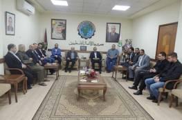 جمعية رجال الاعمال تستقبل وفداً من الوطنية موبايل بمقرها بغزة