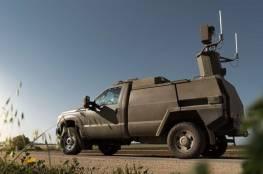جيش الاحتلال يستخدم سيارة دون سائق متطورة على حدود غزة