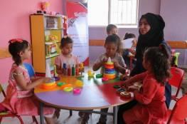 غزة: إعادة فتح دور الحضانات ضمن إجراءات وقائية