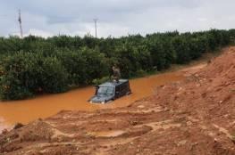 إنقاذ جندي إسرائيلي غرق في الفيضانات