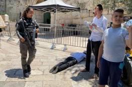 إجراءات احتلالية مشددة بالقدس بحجة الأعياد اليهودية