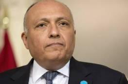 وزير الخارجية المصري: سنتعامل مع أي تصرف غير مسؤول من إثيوبيا
