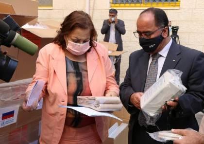 """""""الصحة"""" تتسلم شحنة أدوية من حكومة كازاخستان"""