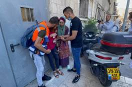 فيديو.. القدس: 10 اصابات بينهم مراسلة الجزيرة إثر قمع الاحتلال مشاركين في مؤتمر صحفي