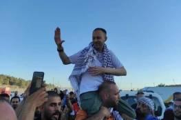 الأسير مريد غيث يتنسم الحرية بعد 17 عاما