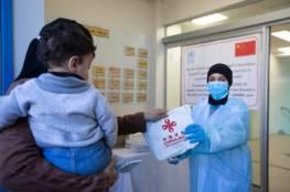 بتبرع صيني.. توزيع مستلزمات فيروس كورونا على كافة أقاليم عمليات أونروا