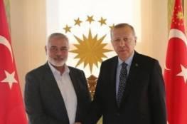 قادمًا من الدوحة.. هنية يصل تركيا لإجراء عدد من اللقاءات
