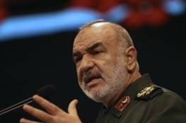 """""""إزالة إسرائيل من المنطقة""""... قائد الحرس الثوري الإيراني يتألم ويوجه رسالة.."""