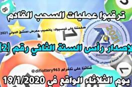 رابط نتائج يانصيب معرض دمشق الدولي إصدار رأس السنة الثاني 2021 حسب رقم البطاقة
