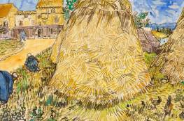 """شوهدت قبل 100 عام.. لوحة الحصاد لـ""""فان جوخ"""" قد تباع بـ30 مليون دولار"""
