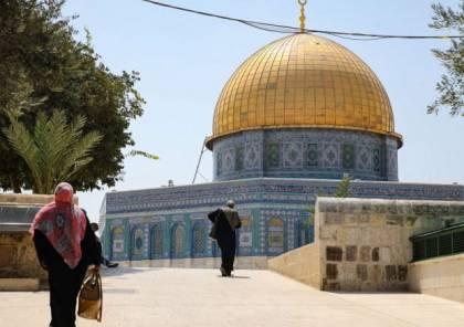 (مكان): فلسطين رفضت طلباً إسرائيلياً لافتتاح نقطة تطعيم بباحات المسجد الأقصى