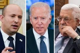 """تقدير اسرائيلي: عباس وقع في """"شرك"""" سياسة بينيت ووعود بايدن"""