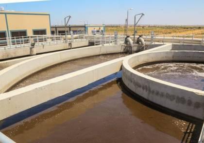 سلطة المياه تعلن عن إعادة تشغيل محطة معالجة المياه العادمة في خان يونس
