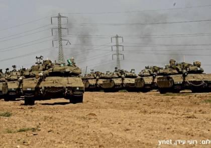 """غير مسبوق.. ما دوافع الجيش الإسرائيلي من نشر آلياته عند حدود غزة؟ """"صور """""""