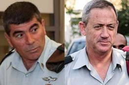 قناة عبرية: غانتس وأشكنازي يدرسان اعتزال الحياة السياسية