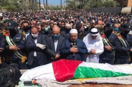 غزة : تشييع حاشد لجثمان القيادي في حماس أحمد الكرد