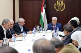 """أبرز الملفات التي ستناقشها """"التنفيذية"""" في اجتماعها اليوم برئاسة ابو مازن"""