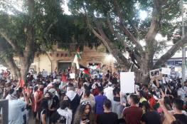 وقفة ومسيرة في العاصمة القبرصية تضامناً مع فلسطين