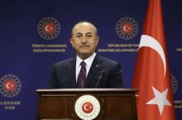 """وزير خارجية تركيا: تعليق إسرائيل مخطط الضم لأراضٍ فلسطينية في الضفة """"مخادع"""""""