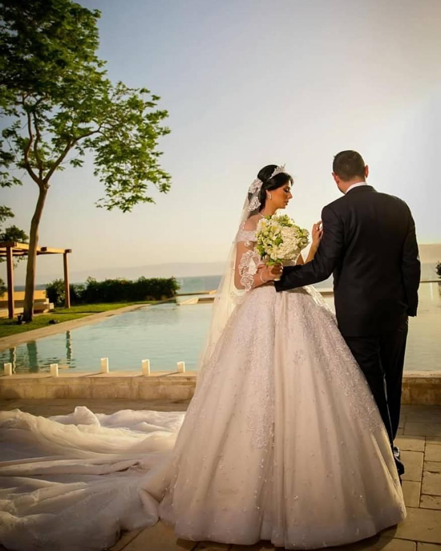 زواج لينا القيشاوي (2)