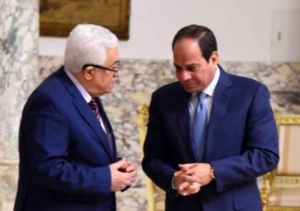 الرئاسة المصرية تكشف تفاصيل لقاء الرئيس عباس بنظيره السيسي