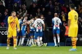 فيديو.. برشلونة يتعثر بديربي كتالونيا ويتقاسم الصدارة مع ريال مدريد