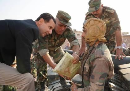 بالصور.. الأسد: أردوغان لص سرق المعامل والقمح والنفط وهو اليوم يسرق الأرض