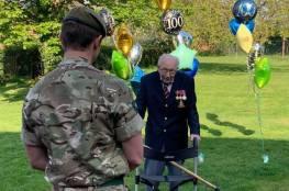 جندي بريطاني (99 عاما) يجمع 18 مليون استرليني للعاملين الصحيين