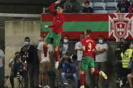 البرتغال تفوز بثلاثية نظيفة على قطر بقيادة رونالدو (فيديو)