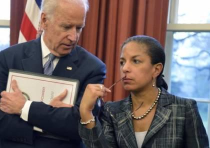 بايدن يختار سوزان رايس لمنصب مستشارة السياسة الداخلية في البيت الأبيض