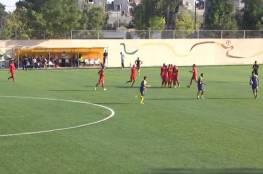فيديو.. الأهلي يحقق الفوز على بيت حانون الرياضي بالممتازة