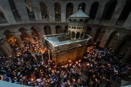 """""""شؤون الكنائس"""" تدعو لقرع الأجراس تضامنا مع المرابطين والمصلين في القدس"""