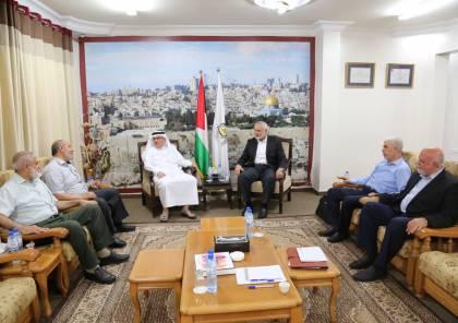 حماس تكشف تفاصيل لقاء هنية والعمادي ووفد مصري يصل غزة نهاية الاسبوع