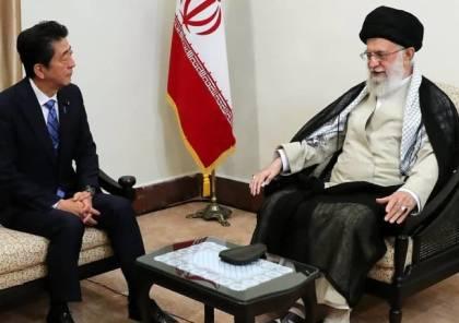 خامنئي لرئيس وزراء اليابان: لن تتفاوض مع أميركا وترامب لا يستحق رسالة