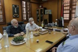 البرغوثي يشيد بجهود بلدية غزة خلال العدوان الإسرائيلي على القطاع
