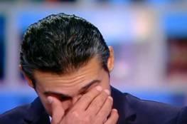 ياسر جلال يبكي على الهواء.. وهذا هو السبب