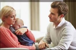 كيف تساند زوجتك في التغلب على اكتئاب ما بعد الولادة؟