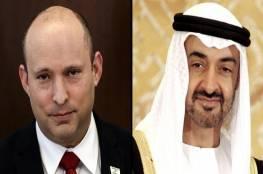 بينيت يتلقى دعوة من بن زايد لزيارة الإمارات