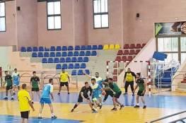 مباريات دوري جوال لكرة اليد في المحافظات الشمالية