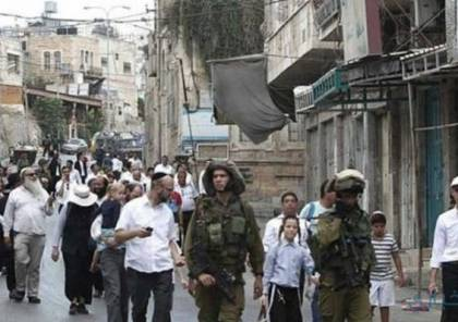 الخليل: مسيرة استفزازية للمستوطنين في البلدة القديمة